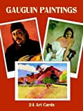 Gauguin Paintings: 24 Art Cards (Card Books) (0486413403) by Gauguin, Paul