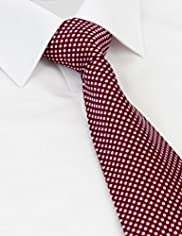 Collezione Pure Silk Mini Checked Tie
