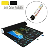 Lavievert Black Felt Mat for Puzzle Storage Puzzles Saver, No Folded Creases, Environmentally Friendly