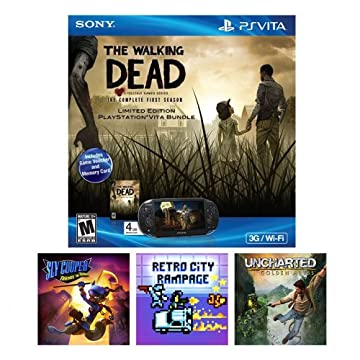 Playstation Vita Walking Dead Holiday Bundle