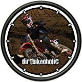 MOTOCROSS Wall Clock supercross dirt bike racing racer