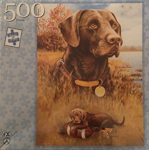 Chocolate Lab: From Puppy to Legend 500 Piece Puzzle