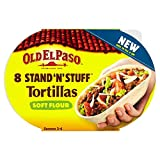 Old El Paso Stand 'N' Stuff Soft Flour Tortillas (8 per pack - 193g)