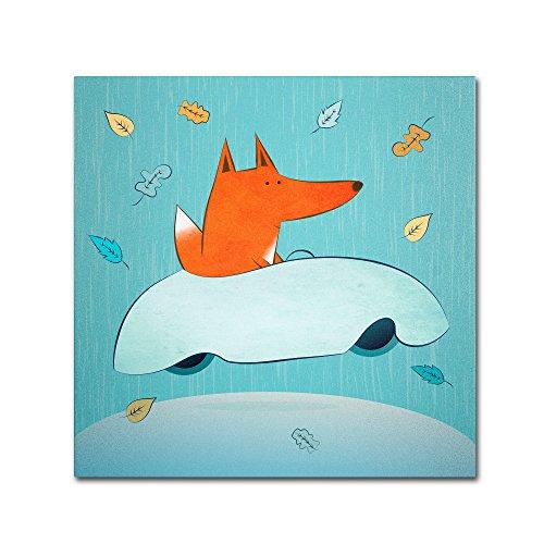 trademark-fine-art-fox-in-car-artwork-by-carla-martell-14-by-14-inch
