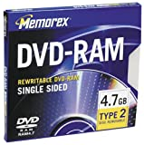 Memorex 4.7GB Type 2 DVD-RAM Media