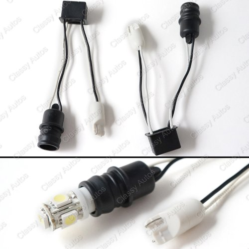 Classy Autos T10 Error Free Adapters Kit 2825 W5W 168 194 Led Decoder
