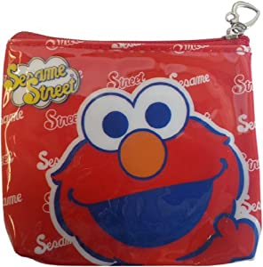Sesame Street Elmo Zip-Up Coin Purse