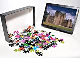 Photo Jigsaw Puzzle of Glamis Castle fro...
