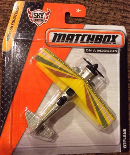 Matchbox MBX Skybusters - BIPLANE - 1