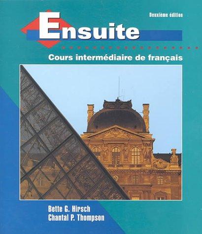 Ensuite: Cours Intermediaire De Francais PDF