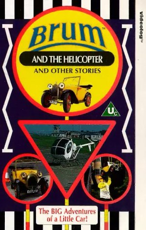 Brum: Brum And The Helicopter And Other Stories [VHS]