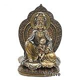 Cold Cast Bronze Goddess of Fertility Guan Yin Kuan Yin Statue