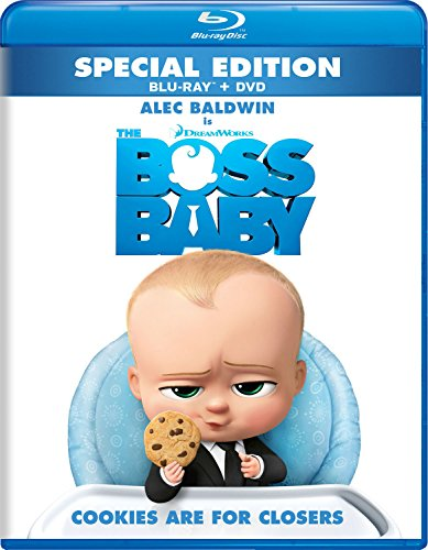 Blu-ray : The Boss Baby (Dubbed, , Widescreen, Dolby, AC-3)