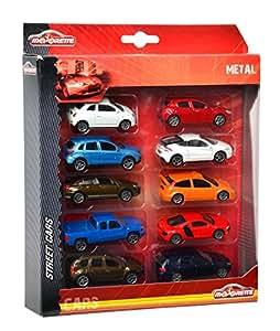 Majorette  - Vehicule miniature - 205324 10 - Majorette Square Pack - 10 voitures