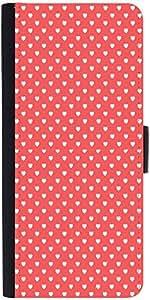 Snoogg Heart Love Pattern Designer Protective Phone Flip Case Cover For Lenovo Vibe X2