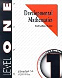 Developmental Mathematics Instruction Guide, Level 1. Ones: Concepts and Symbols