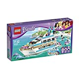 LEGO Friends Dolphin Cruiser Building Set 41015(Discontinued by manufacturer) (Color: Multi-colored, Tamaño: One Size)