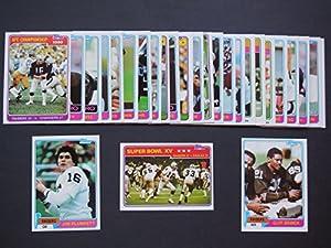 Oakland Raiders 1981 Topps Football Team Set (27 Cards) Chris Bahr, Cliff Branch, Bob... by Topps