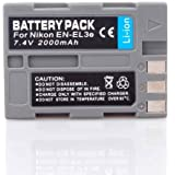 EN-EL3e Replacement Lithium-Ion Battery for Nikon Digital SLR D700, D300, D200, D90, D80 Digital Camera
