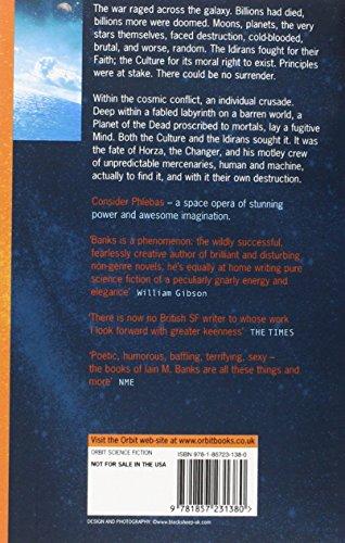 Consider Phlebas: A Culture Novel (The Culture)