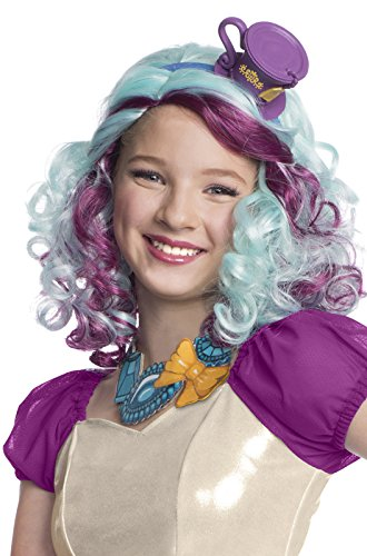 Rubie's Costume Co - Ever After High - Madeline Hatter Wig with Headpiece