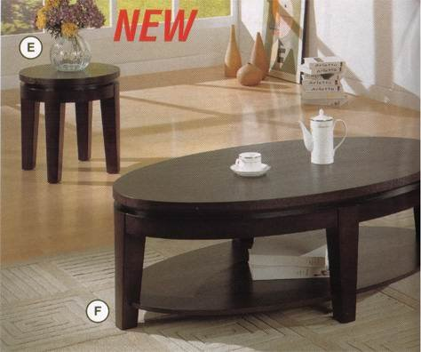 Cheap Coaster Bosworth End Table in Deep Dark Cappuccino Wood Finish (B001AIVBPY)