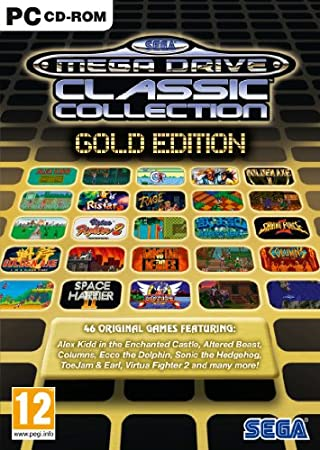 SEGA Mega Drive - Gold Collection (PC CD)