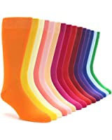 Boldsocks Solid Color Men's Dress Socks