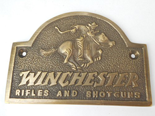 winchester-rifles-and-shotguns-solid-brass-plaque-plate-great-ammo-box-case-plaque-or-gun-safe-sign