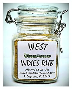 West Indies Rub 18 Oz 50g - Organic Eco Friendly Gifts - Eco-spices