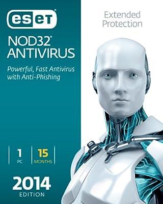 ESET NOD32 Antivirus 2014 Edition 1 User 15 Months [Download]