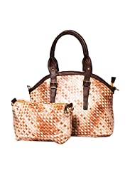 ADISA B1714 BROWN Women PU Handbag