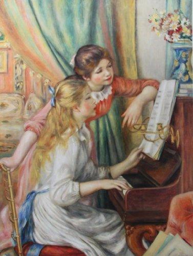 ルノアール 「ピアノを弾く少女たち」