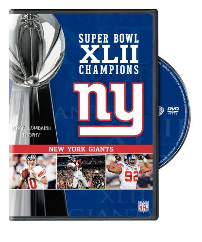 Nfl Super Bowl Xlii - New York Giants Championship Dvd Picture