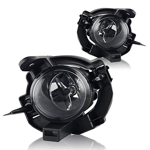 Winjet WJ30-0361-09 Clear Lens Fog Light Kit (Nissan Rogue Wiring Kit Included) (Altima Oem Fog Lights compare prices)