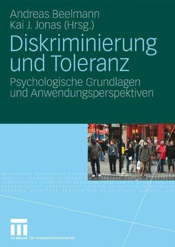 Diskriminierung und Toleranz: Psychologische Grundlagen und Anwendungsperspektiven (German Edition)