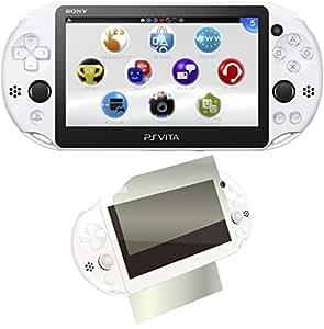 PlayStation Vita Wi-Fiモデル グレイシャー・ホワイト(PCH-2000ZA22) 【Amazon.co.jp限定】特典CYBER液晶&背面タッチパッド 保護フィルム (指紋防止タイプ)付