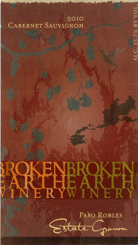 2010 Broken Earth Cabernet Sauvignon Paso Robles 750 Ml