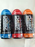 POWERADE ZERO DROPS-ONE-3 PACK(Mountain Berry Blast/Fruit Punch/ Orange-Flavor Enhancer with ELECTROLYTES