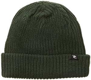 Rip Curl Men's trop faciles Beanie Bonnet -  Vert - Taille unique