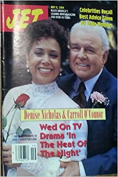 Jet - May 9, 1994 Denise Nicholas & Carroll O'Connor Wed Paperback