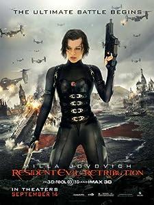 Resident Evil: Retribution (2012) 27 x 40 Movie Poster - Style B