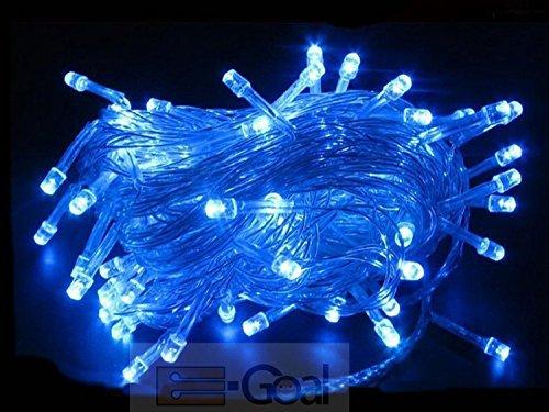10M 100 Led Fairy Light String Christmas Lights (Blue) front-427433
