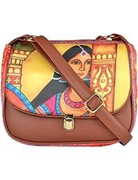 All Things Sundar Womens Sling Bag / Cross Body Bag - S05 - 03