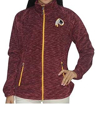 NFL WASHINGTON REDSKINS Womens Zip-Up Thermal Track Jacket