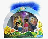 Disney Fairies 8pc Fairies Stationery Tote Set - Tinkerbell Pen and Notebook - Tinkerbell Stamps