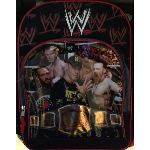 with John Cena, CM Punk : Sports Fan Backpacks : Sports & Outdoors