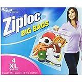 Ziploc Big Bag Double Zipper, X-Large, 24-Count (buzi105)