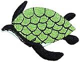 ID #0728C Sea Turtle Marine Endangered Ocean Animal Zoo Iron On Applique Patch
