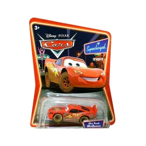 Cars Series 2 Dirt Track McQueen Vehicle